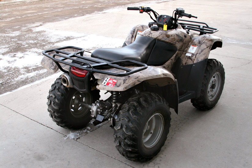 2007 Honda Rancher 420 Camo Trendsetters Powersports