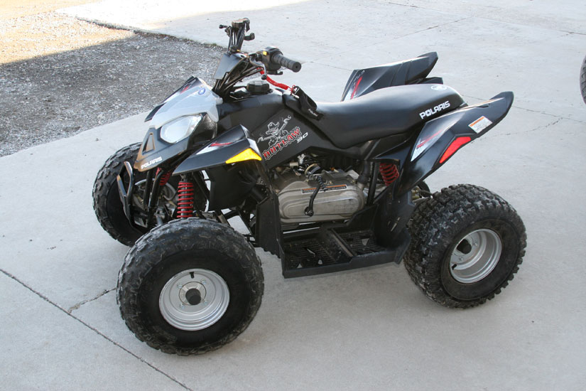 2007 Polaris Outlaw 90 Trendsetters Powersports